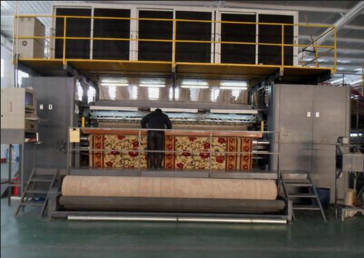 electronic weaving machine carpet loom